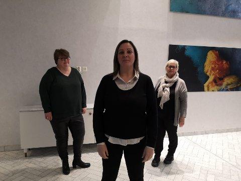 Ledere: Disse tre kvinnene har alle blitt valgt til hvert sitt lederverv. Det er Lisa Marshall, Anna Cecilie Jentoft og Ingrid Lien.