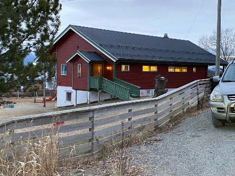 God plass: Barnehagen i Nordfold er for tiden den av barnehagene i Steigen som har flest ledige plasser.