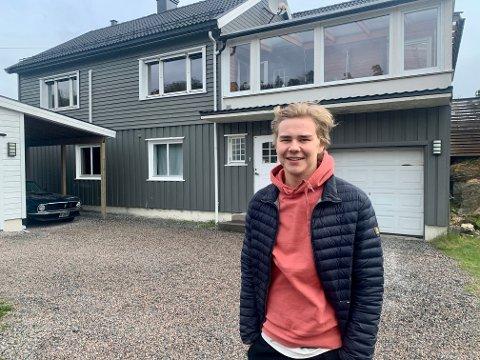 HUSEIER: Herman Furuvald Johannessen valgte å kjøpe seg hus i en alder av 20 år.