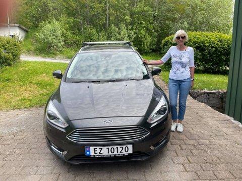 Toril Valeur Lundestad fra Bodø kjørte uvitende ulovlig i seks år. - Jeg har ikke benyttet meg av fordelene, sier hun.