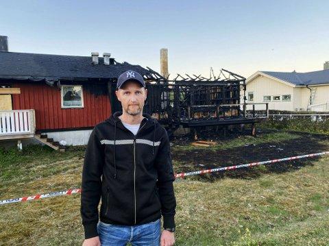 Bjørn Roar Holiens første tanke var: «Hvordan kan jeg hjelpe?» Foto: Sindre Kolberg