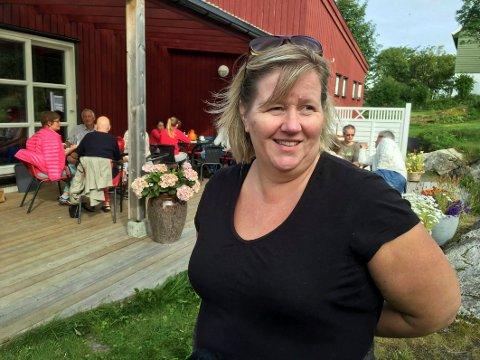 Mye besøk: – De årene Dorotheas Fryd ble drevet for fullt hadde spisestedet over 20.000 besøkende i løpet av noen hektiske sommermåneder, forteller driver Vibeke Stavøy.