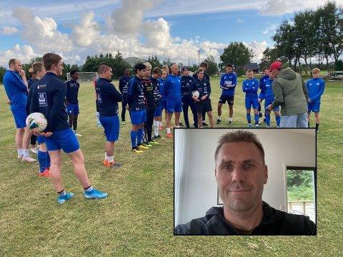 Aktiviteten florerer igjen i Meløy FK, noe av æren får Hans Jørgen Andersen.