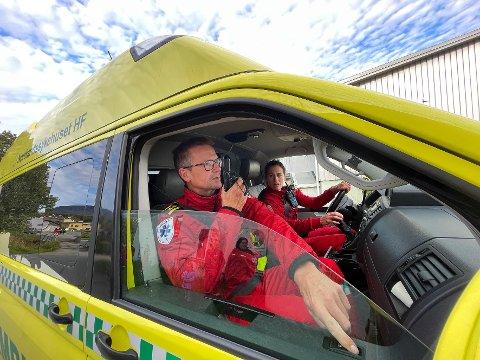 Politikk: Stadig flere politikere engasjerer seg for å bidra for at ambulansetjenesten i blant annet Steigen får beholde ordningen med stasjonsvakt.