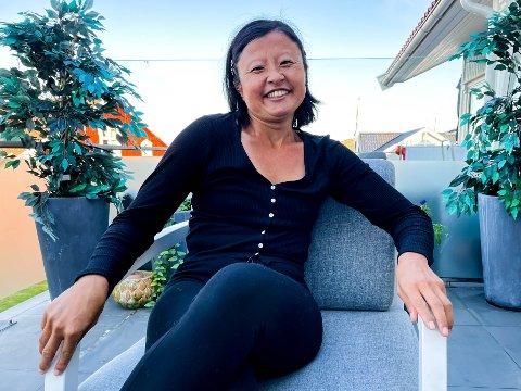 INTENST: Maria Pedersen levde med intense smerter i flere år. Nå er hun glad for å ha funnet et sted hvor andre kan relatere til hennes opplevelser.
