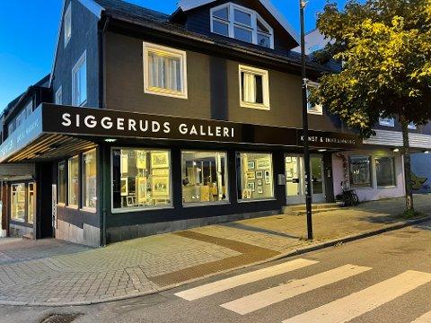 Siggerud Galleri overtar nabolokalene i Bodø sentrum..