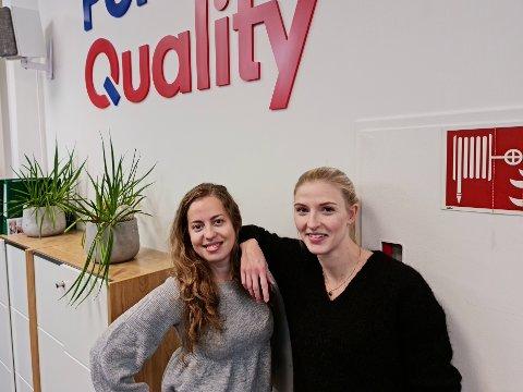 Diana Isabel Mendes dos Santos (29) og Anne Stoltenberg Johansen (27) fikk en spesiell start i sine nye jobber.