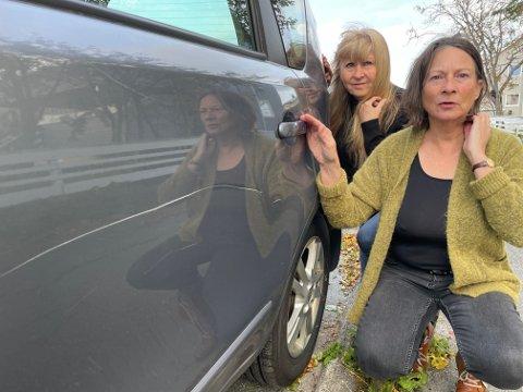 - Det er for jævlig at slikt skjer, sier Annicka Jacobsen og Anne Live Kristensen.