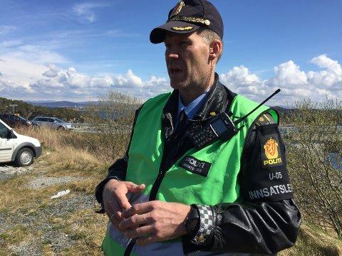 Innsatsleder Kjetil Øyri.