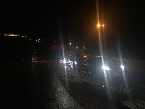 Seks personer er skadet etter en ulykke i Halsnøytunnelen. Bildet er tatt på Husnes-siden av tunnelen.