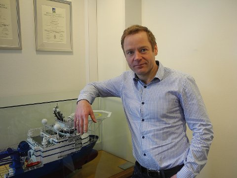 Mons Svendal Aase er konsernsjef i DOF ASA. FOTO: BA