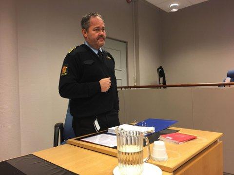 Politiadvokat Arne Fjellstad i Vest politidistrikt.