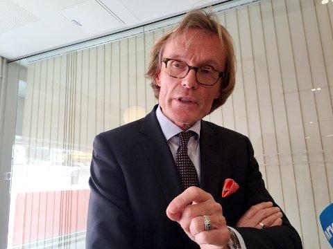 Tidligere havnedirektør Inge Tangerås.