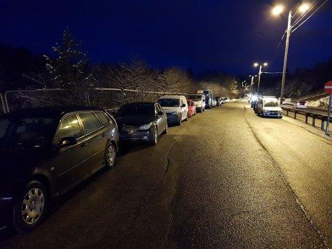 19 biler ble avskiltet i kontrollen.