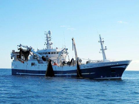 Fiskebåten «Gardar».