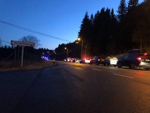 Den 18 år gamle bilføreren ble sendt til Haukeland sykehus etter ulykken.