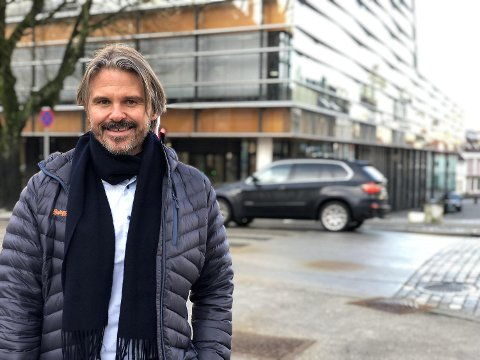 Vegar Styve er konsernsjef i Frende Forsikring. FOTO: FRENDE FORSIKRING