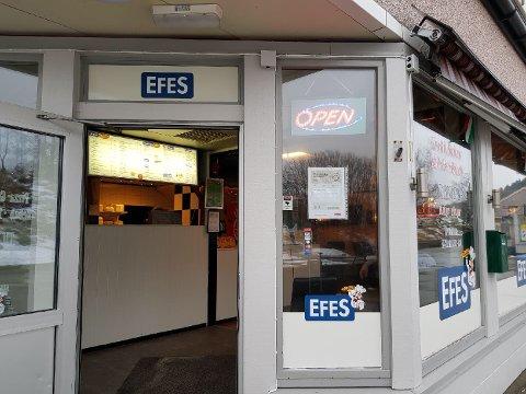 Efes Pizza på Flaktveit var en av ni spisesteder som ble stengt fredag 26. januar.