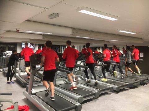 Brann-spillerne endte på treningsstudio i stedet for å spille kamp mot Ranheim.
