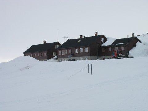 Litlos Turisthytte er en av Den Norske Turistforenings hytter hvor de besøkende har vært rammet av magevirus. Foto: Torfinn Evensen / DNT / NTB scanpix
