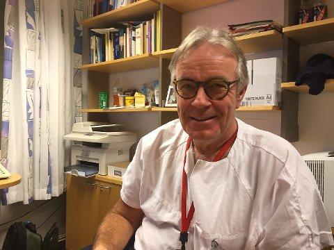 Torstein Egeland, leder for Det norske beinmargsgiverregisteret, professor og overlege ved Rikshospitalet, OUS. Beinmargsdonor.
