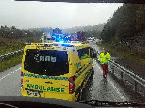Ulykken skjedde på Seim. Dette skal ikke være en ulykkesutsatt strekning.