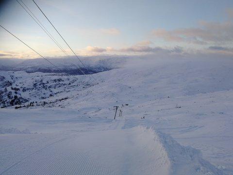 På Voss åpnet sesonge den 8. desember, men i helgen får de endelig satt i sving flere heiser.
