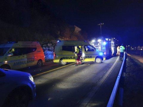 Alle nødetatene, i tillegg til ambulansehelikopter, rykket ut til ulykkesstedet i 2019. (Arkivfoto)