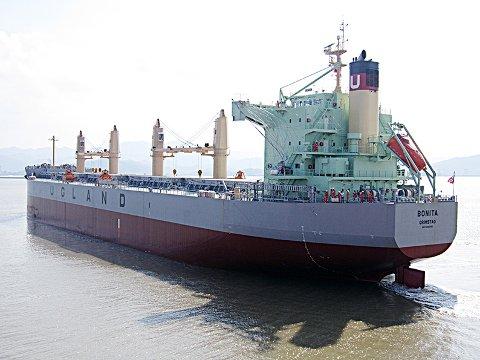 Det norske skipet Bonita som er eiet av Ugland-rederiet er kapret utenfor Benin i Vest-Afrika.