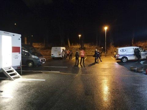 På julaften var det leteaksjon etter en savnet person i Bergen. Mange frivillige kastet seg rundt og deltok.