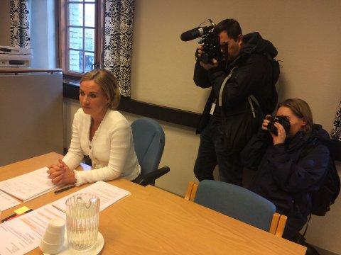 Forsvarer Ellen Eikeseth Mjøs. Den siktede barnemoren møtte ikke i fengslingsmøtet.