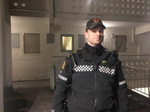 Innsatsleder John-Endre Skeie.