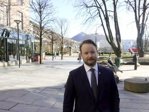 Casper Meland er administrerende direktør i Marine Benefits. FOTO: SVEIN TORE HAVRE