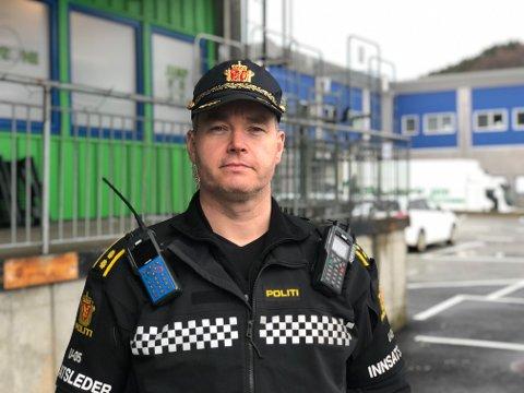 Innsatsleder Ole Marius Røttingen.