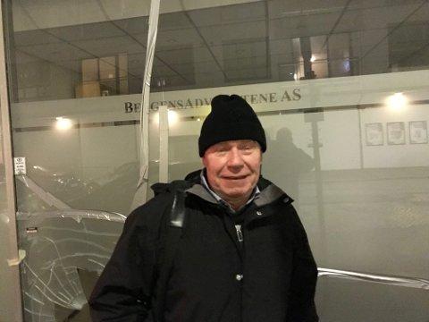 Kveldens hovedperson, Tor Woldseth, kunne smile etter skjebnemøtet.