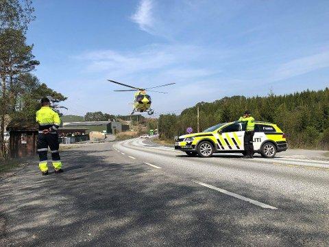 En person ble funnet livløs, og senere erklært død, ved gjenvinningsanlegget i Kjevikdalen 29. april.