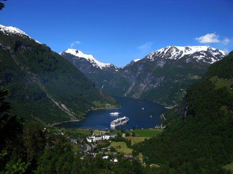 I vår blei det innført nye og strengare utsleppskrav i Geirangerfjorden.
