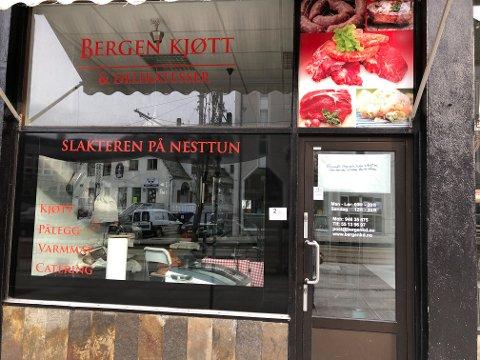 Bergen Kjøtt & Delikatesser ble stengt i februar.