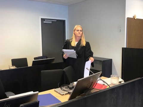 Statsadvokat Kristine Herrebrøden.