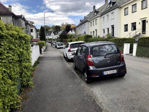 Beboerne i sentrum må punge ut for gateparkering.