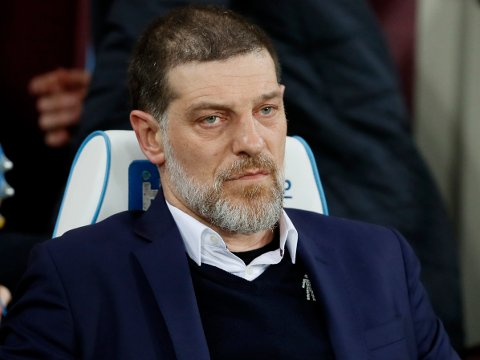 FILE - In this Monday, March 6, 2017 file photo, then West Ham manager Slaven Bilic watches the English Premier League soccer match between West Ham and Chelsea at London Stadium. Former Croatia coach Slaven Bilic is back in club management at second-tier team West Bromwich Albion in England, it was announced Thursday, June 13, 2019. (AP Photo/Kirsty Wigglesworth, file)
