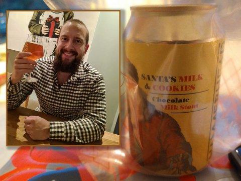 Det var en slik type øl som eksploderte over hele kjøkkenet til Simon Nordeide fra Fana i Bergen. Bildet av ølen er tatt av en annen BA-tipser, som ikke var like uheldig.
