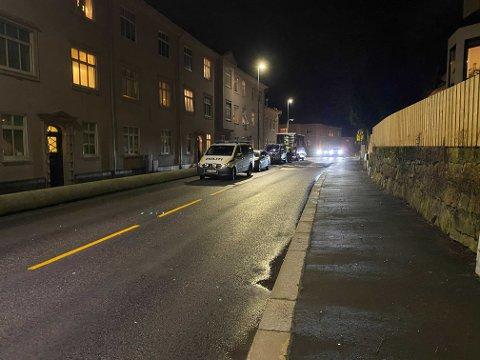 En person ble skutt av politiet under en aksjon i Ibsens gate mandag kveld.