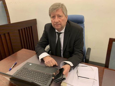 Advokat Erik Mjell representerer FpU-leder  Celine Andersen.
