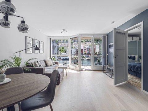 Det var flere som forsøkte å kjøpe denne leiligheten på Møhlenpris før budrunden. Tilbudet på 1,2 millioner kroner over prisantydning ble vanskelig å takke nei til.
