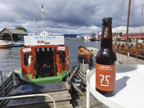 I samarbeid med 7 Fjell har Beffen lansert sitt eget øl. Kjøper du ølet, støtter du samtidig driften av de lokale fergene.
