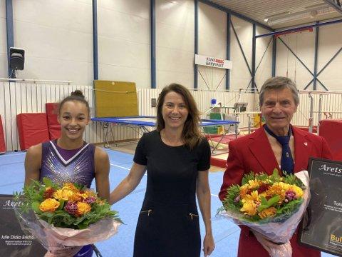 Julie Dicko Erichsen (19) fra Bergen er kvalifisert til OL neste år. Hun fikk et stipend av Cecilie Sælen og Bull Productions AS. Den tidligere toppturneren, Tore Lie (74) ble utnevnt til «Årets legende».