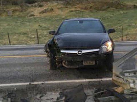 Bilen ble stjålet fra en adresse på Kolltveit kort tid før ulykken.