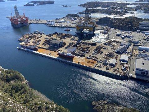 Norscrap West AS på Hanøytangen fikk oppdraget med å destruere fregatten.