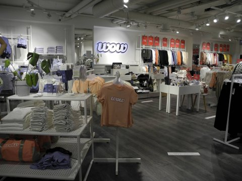 Wow-butikken på Sundt skal avvikles. Det er ikke kjent når butikken stenger dørene for godt.